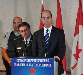 Canada Fights Human Trafficking